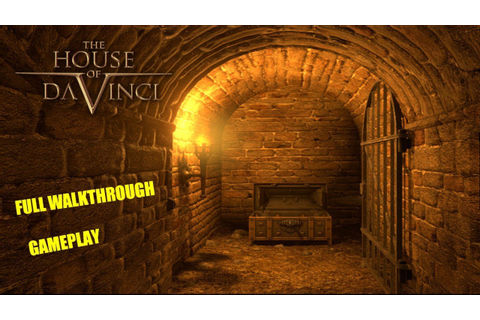 The House of Da Vinci * FULL GAME WALKTHROUGH GAMEPLAY ...