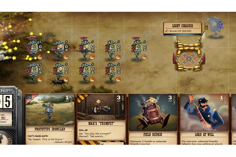Cards, conflict and civil war – Ironclad Tactics reviewed ...