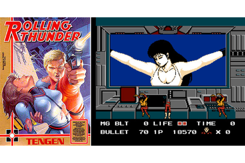 Play Rolling Thunder on NES