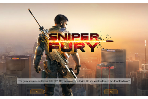 Sniper Fury: best shooter game for Amazon Kindle Fire HD ...