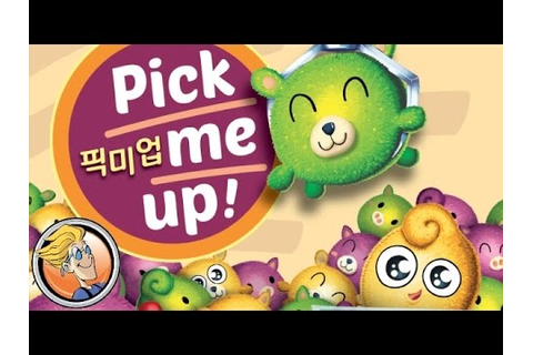 Pick Me Up! — game overview at SPIEL 2016 by Happy Baobab ...