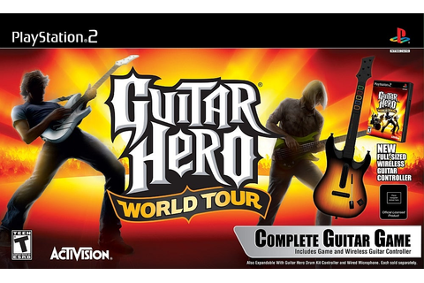 Guitar Hero World Tour (Complete Guitar Game) Review - IGN