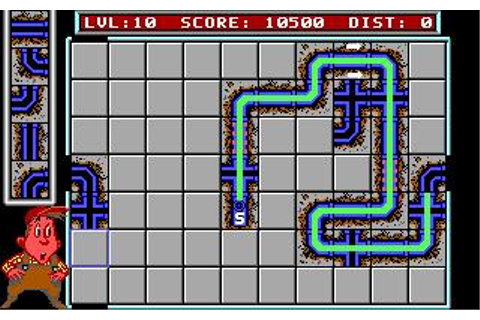 Pipemania Download (1989 Puzzle Game)