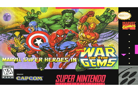 Marvel Super Heroes War of the Gem SNES Gameplay - YouTube