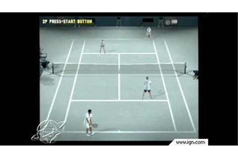 Smash Court Tennis Pro Tournament - PlayStation 2 - IGN