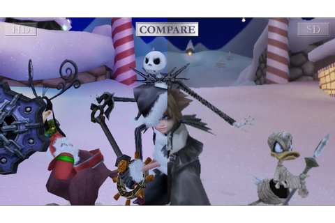 KINGDOM HEARTS HD 2.5 ReMIX - Interactive SD/HD Comparison ...