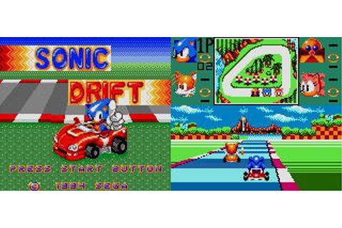 Sonic Drift from Sega - Game Gear