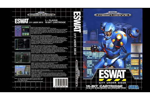 ESWAT: City under Siege - Mega Drive trucchi