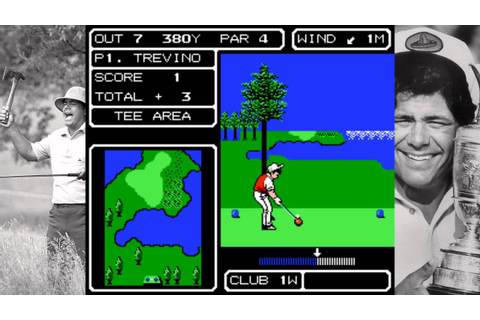 Lee Trevino's Fighting Golf Longplay 18 holes JAPAN Course ...