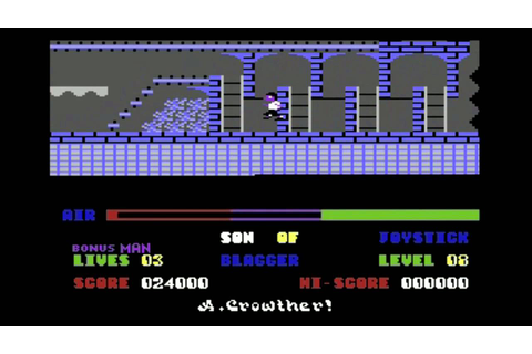 C64-Longplay - Son Of Blagger (720p) - YouTube