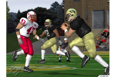 NCAA Football 2002 Screenshots, Pictures, Wallpapers ...