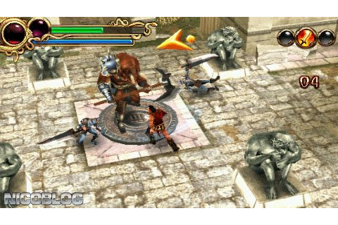 Hero of Sparta (USA) PSP ISO | Cdromance