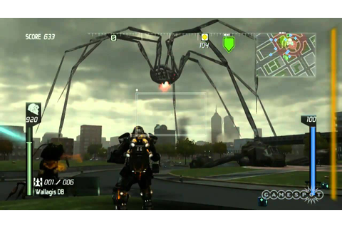 Earth Defense Force: Insect Armageddon Floor Demo E3 2011 ...
