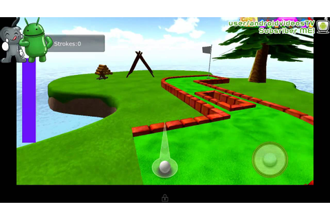 Android Cartoon Mini Golf Game 3D - YouTube