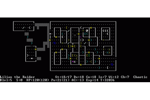 The Top 25 RPGs of All Time #23: NetHack | USgamer