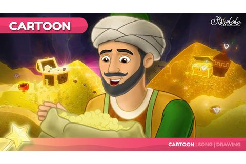 Ali Baba and the 40 Thieves kids story cartoon animation ...