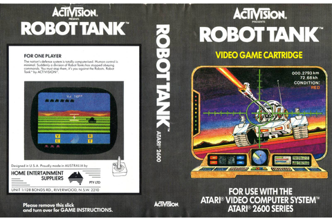Atari 2600 VCS Robot Tank : scans, dump, download ...