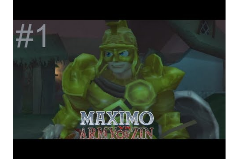 Let's Play Maximo Vs Army of Zin Part 01: Return to Hell ...