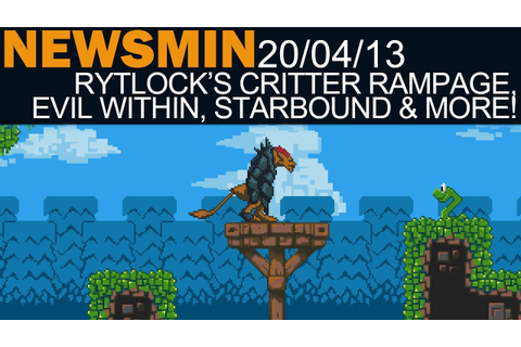 Newsmin - 20/04/13 - Rytlock's Critter Rampage Game, The ...