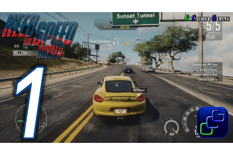 Need For Speed: Rivals Walkthrough - Gameplay Part 1 ...