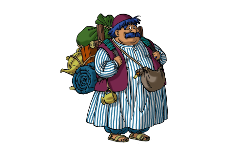 Torneko no Daibōken: Fushigi no Dungeon HD Wallpaper ...