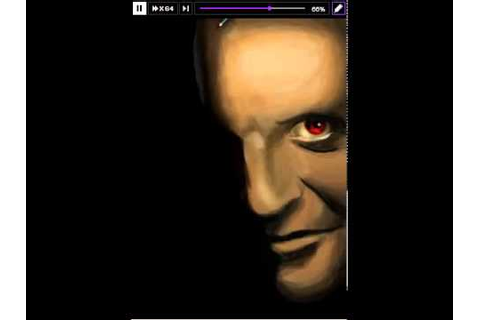 roiworld drawing Color Game: Red Hannibal Lecter M D - YouTube