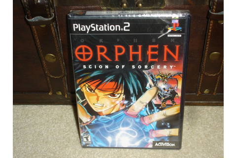 Orphen Scion of Sorcery PS2 factory sealed - Very Rare ...