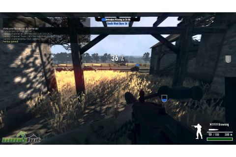 Exclusive Heroes and Generals Gameplay - First Look with ...