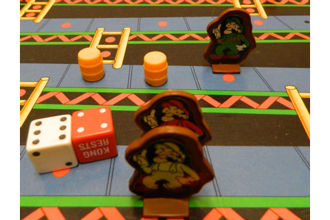 Donkey Kong Board Game Review and Instructions | Geeky Hobbies