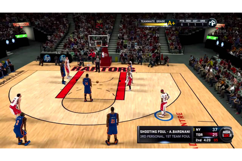 NBA 2K11 My Player - 1st NBA Game & Press Conference - YouTube