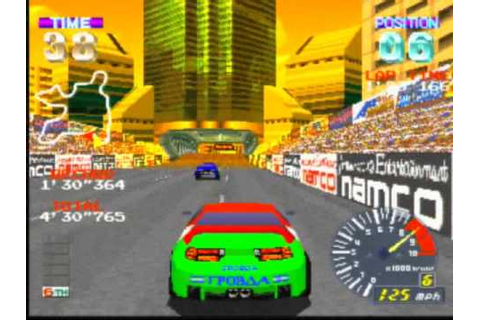Ridge Racer Revolution Game Sample - Playstation - YouTube
