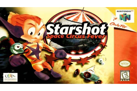 Starshot: Space Circus Fever N64 ROM (USA/EUR) | Games ...