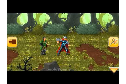Thor Son of Asgard mobile java games - YouTube