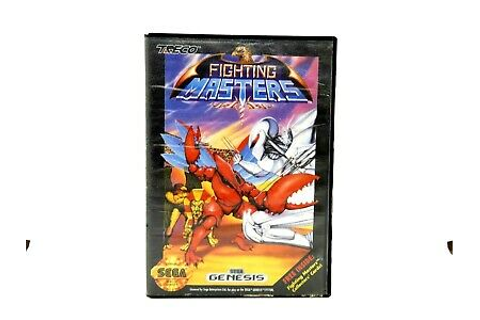 FIGHTING MASTERS SEGA GENESIS GAME * 39471907068 | eBay