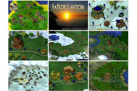 Caiman free games: Widelands by Widelands Development Team.