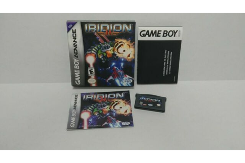 Iridion II - Game Boy Advance - Complete | eBay