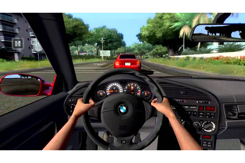 Test Drive Unlimited 1 - BMW E36 M3 3.2 - YouTube