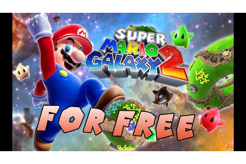 How to Get Super Mario Galaxy 2 For Free For PC ...