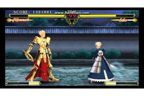 Fate Unlimited Codes - Gilgamesh Arcade (Finale) - YouTube