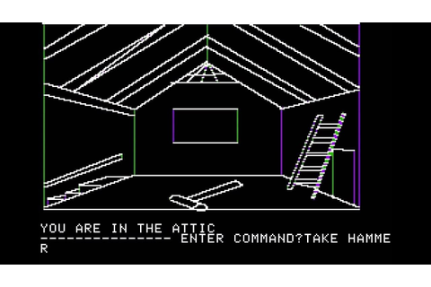 Apple II Game: Mystery House (1980 On-Line Systems) - YouTube
