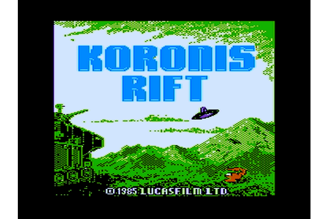 Download Koronis Rift (Amstrad CPC) - My Abandonware