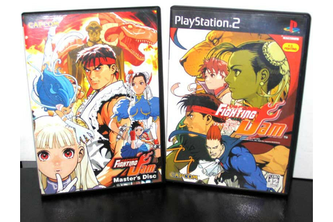 Capcom Fighting Jam + Bonus Disc- Japanese PS2 Import | eBay
