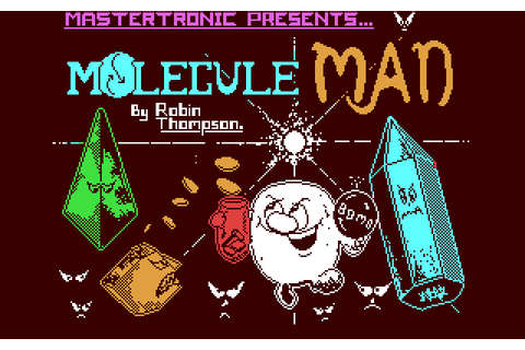 Molecule Man (1986) by Mastertronic C64 game
