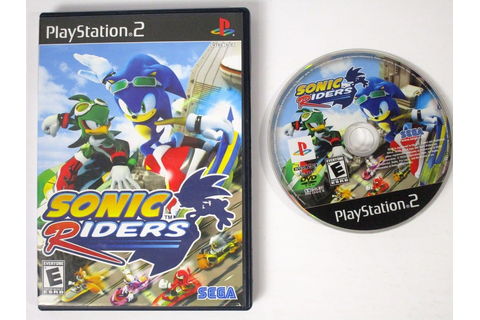 Sonic Riders game for Playstation 2 | The Game Guy