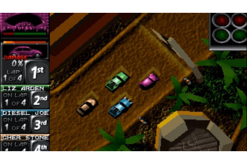 Death Rally [DOS/1996/DE] - YouTube