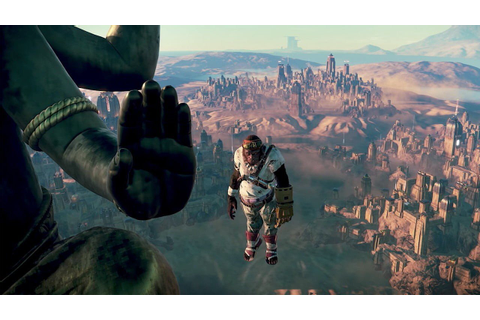 New Beyond Good & Evil 2 footage showcases flying vehicles ...