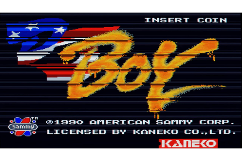 DJ Boy Intro (Arcade Game) - YouTube