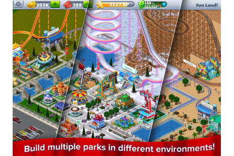 RollerCoaster Tycoon® 4 Mobile for Android - APK Download