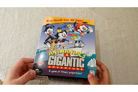 Random Game Unshrinking - Animaniacs: A Gigantic Adventure ...