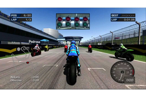 MotoGP '06 Xbox 360 720P gameplay - YouTube